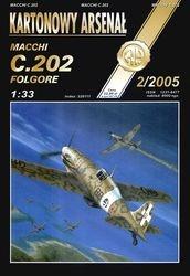 Журнал Журнал Macchi C.202 Folgore-Halinski Kartonowy Arsenal (5`2005)