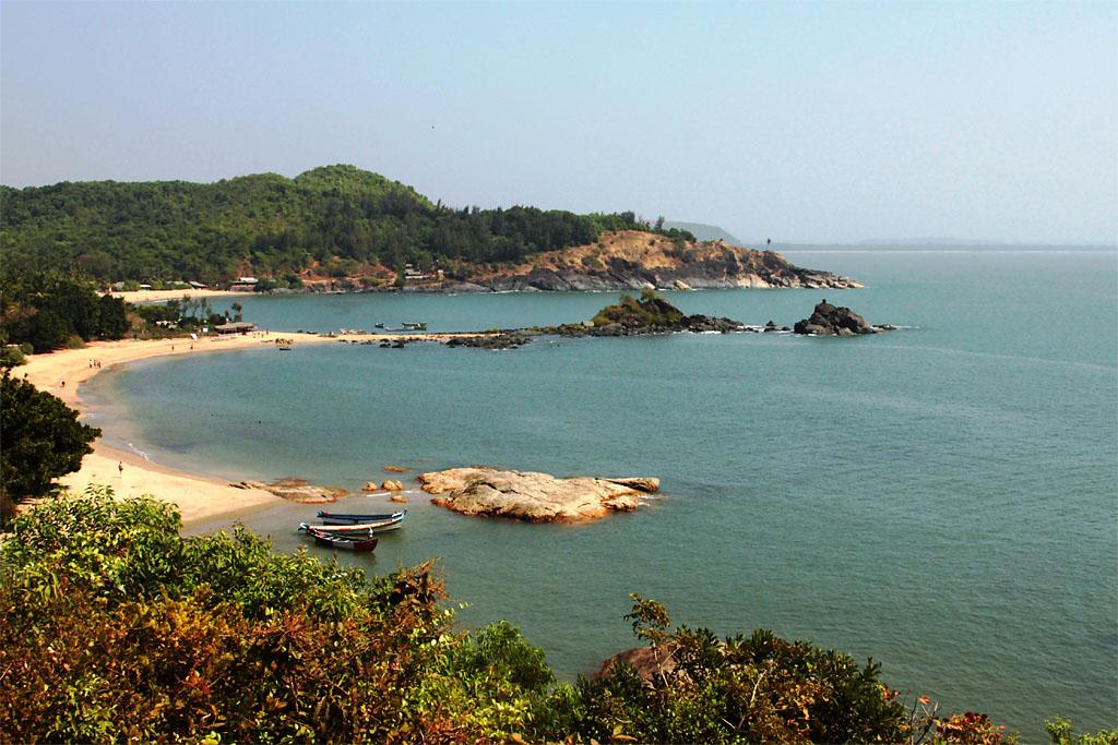 Фото 21. Пляж Ом в Гоа. Индия