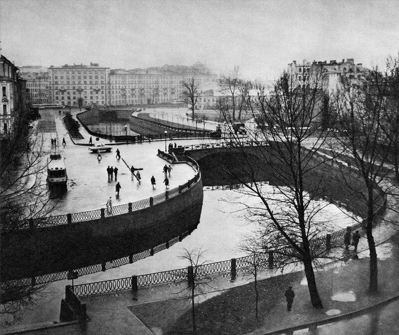 Силин (Пионерский) мост / Silin (Pioneers') Bridge
