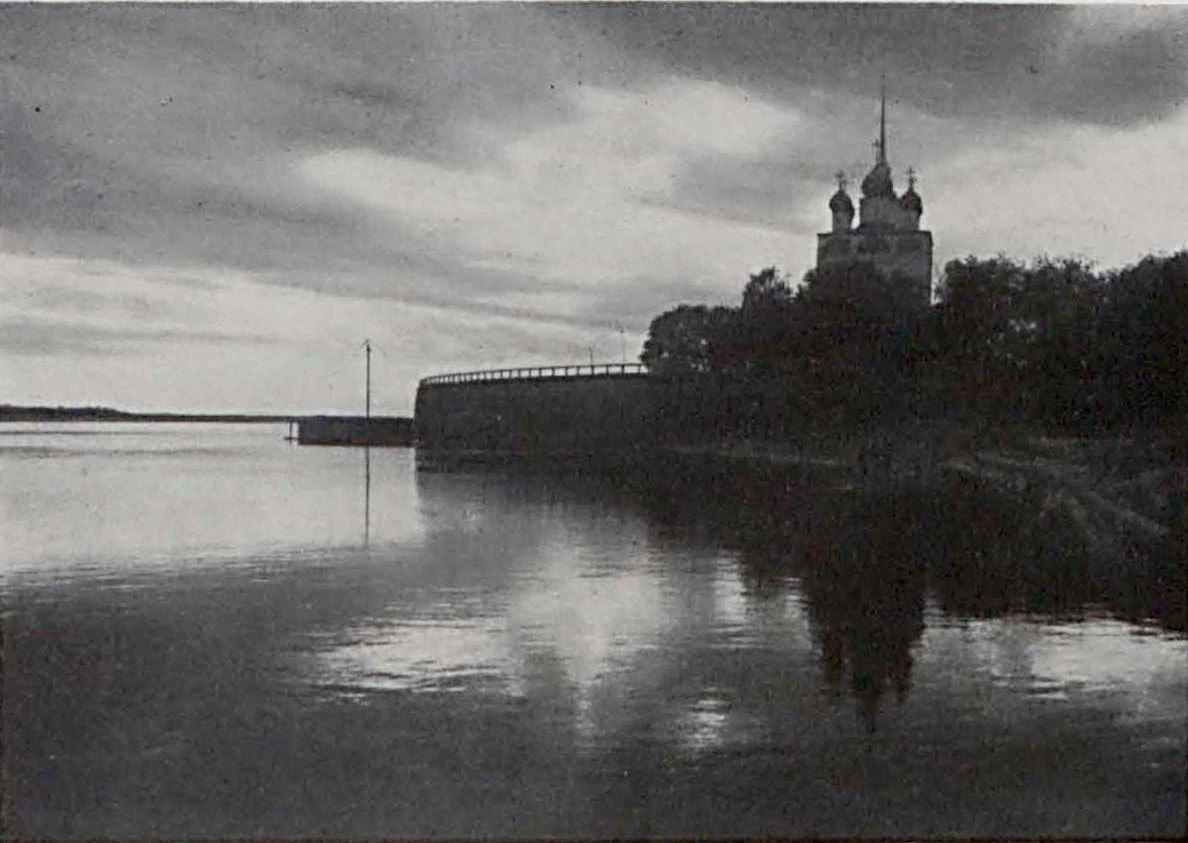 Благовещенский собор и ряжевая набережная. 1910
