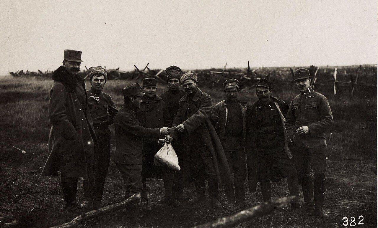 Павловичи. Продажа продуктов питания русским военнопленным