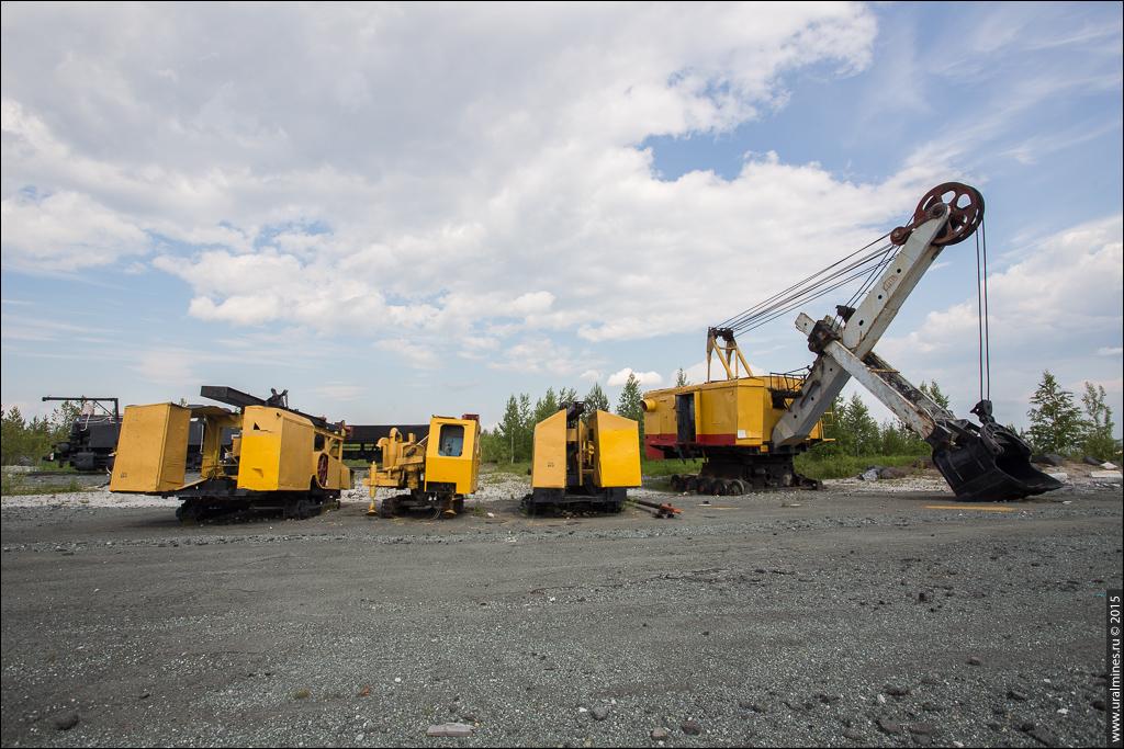 Музей горной техники Высокогорского рудника