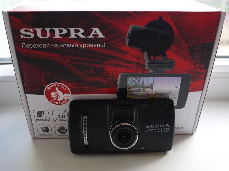 SUPRA SCR-1000NAD Navitel