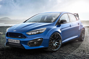Ford выпустит «заряженную» версию хэтчбека Focus RS