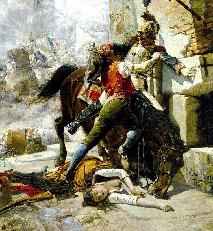 1808 05-02 Muerte de Manuela Malasaña - Eugenio Alvárez Dumont.jpg