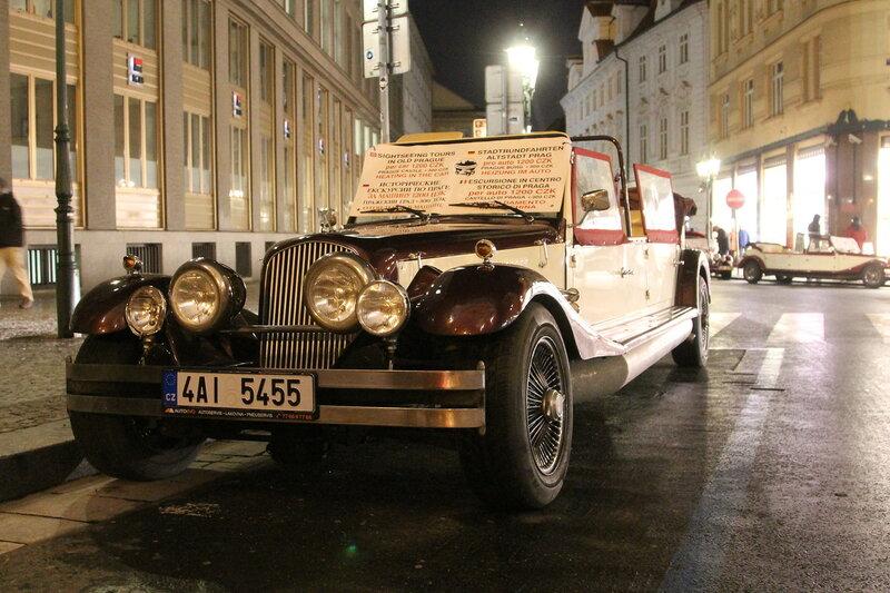 Автомобили в Праге