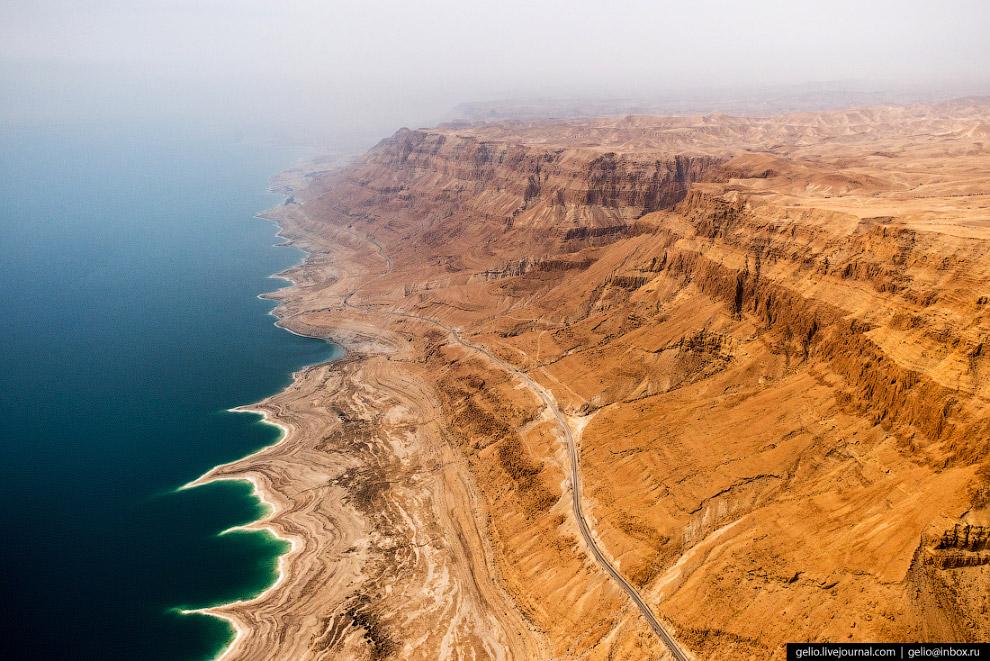 50. Согласно историческим преданиям, в древности на Мёртвом море было довольно активное судоходство,