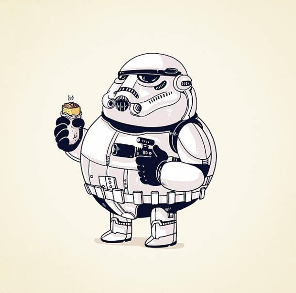 Толстые и неуклюжие супергерои