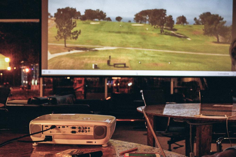 Поля для гольфа , Сан-Диего, штат Калифорния, США