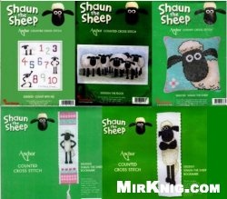 Журнал Anchor - Shaun the Sheep SS00003,SS00004,SS00102,SS00700,SS02000,SS02001