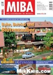 Журнал MIBA Die Eisenbahn im Modell 2013-06