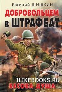 Книга Шишкин Евгений - Добровольцем в штрафбат. Бесова душа