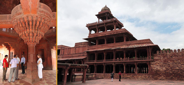 Фото 8. Путешествие из Джайпура в Агру. Дворец. Отчеты туристов из России о поездке в Индию.