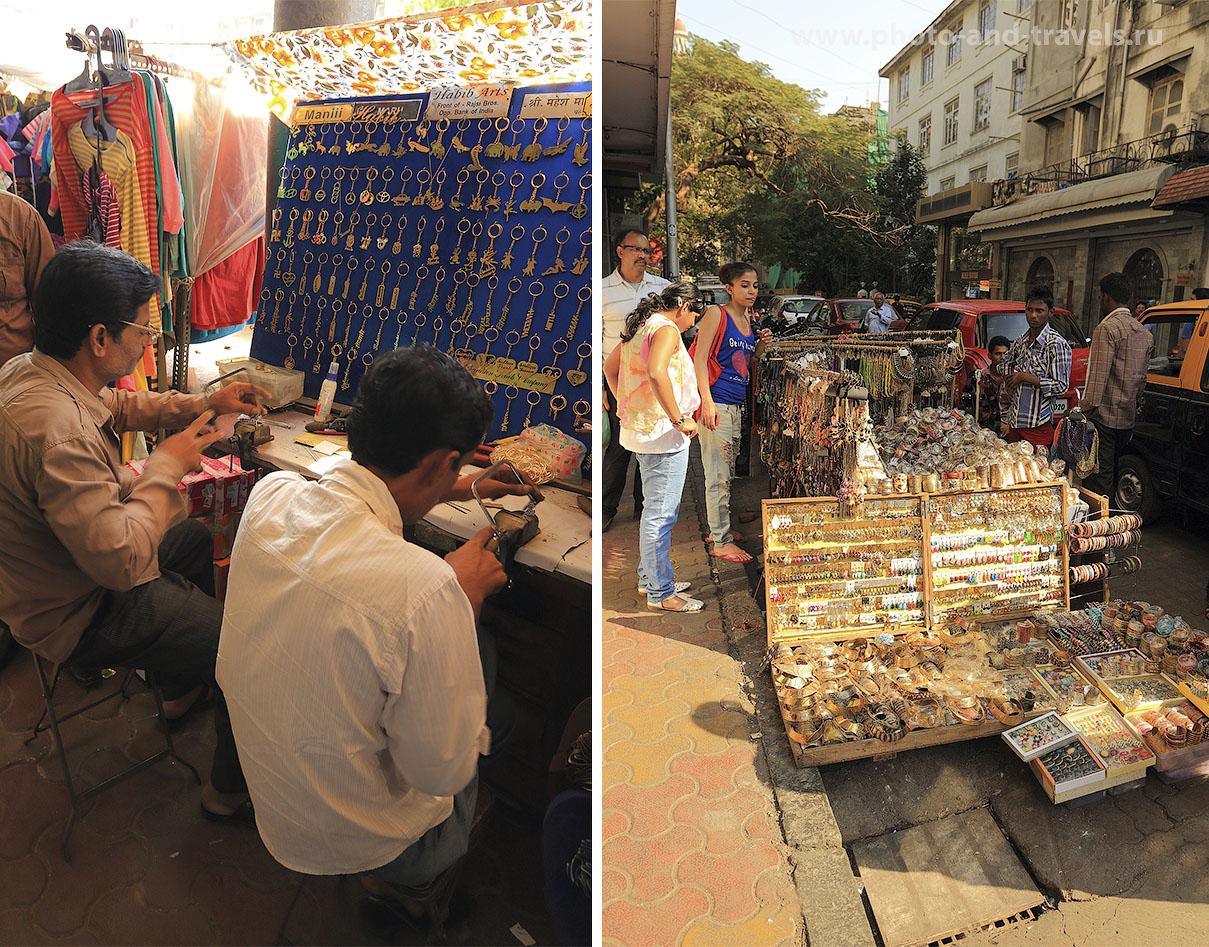 Фото 7. Сувенирные лавки в Мумбаи. Отчет о путешествии по Индии