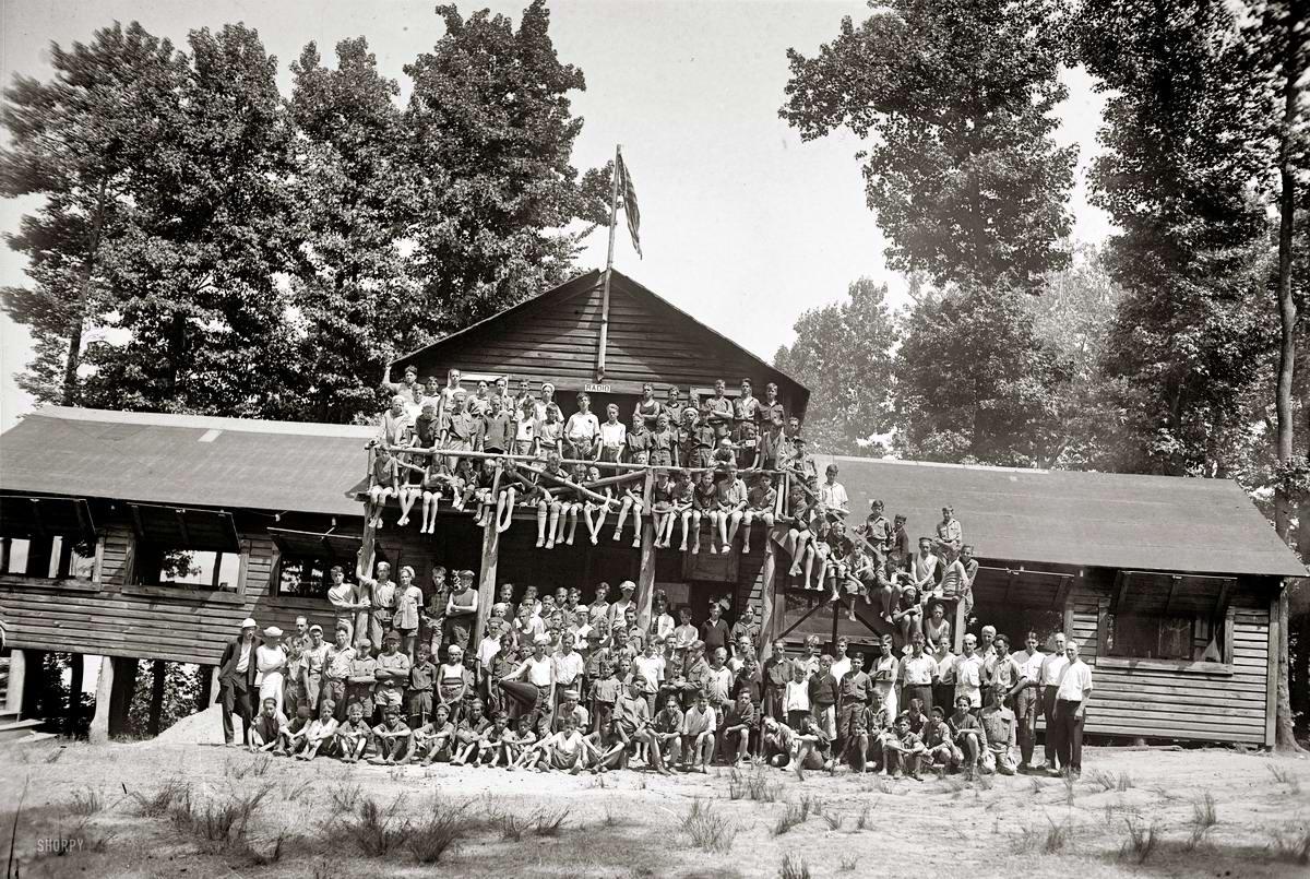 Американские бойскауты начала 20-го века на снимках фотографов (26)