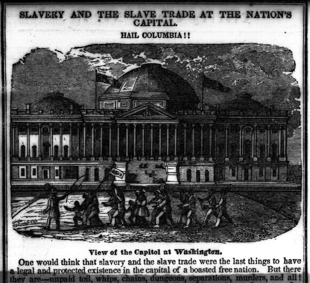 Рабство и работорговля в столице страны (Вашингтон, 1840-е годы)