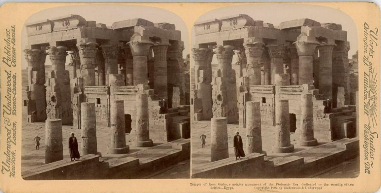 Храм Себека и Гора. 1902