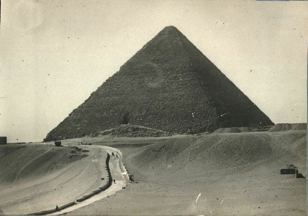 Великая пирамида. 1918
