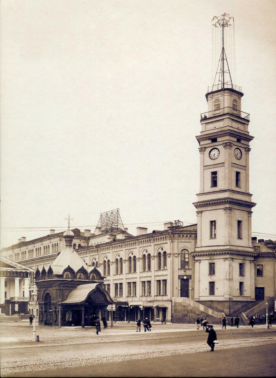 Вид на здание Городской Думы