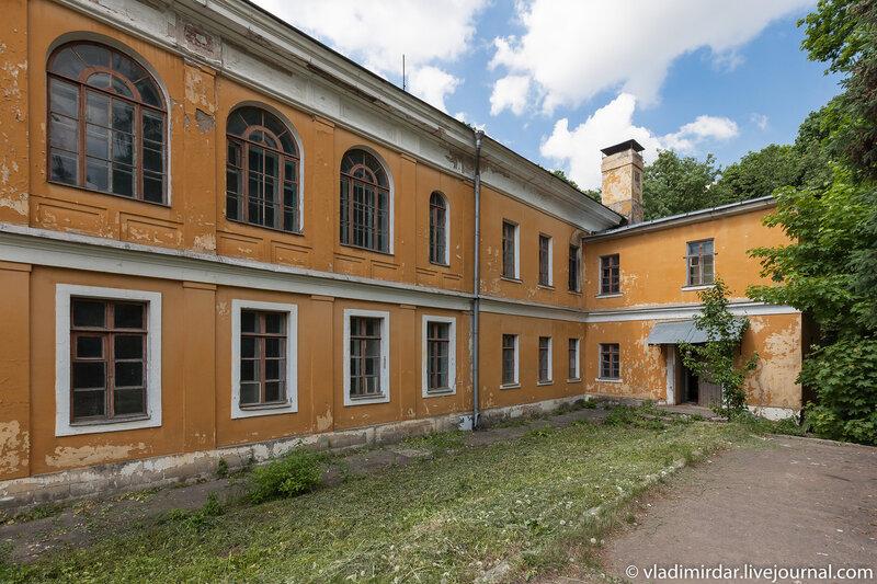 Восточное крыло главного дома усадьбы Суханово