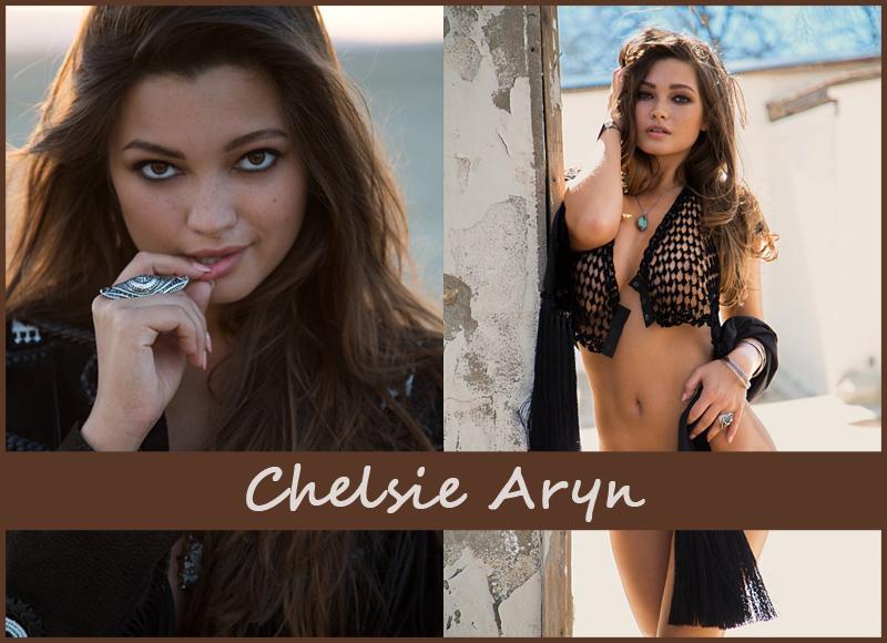 Американская модель Chelsie Aryn