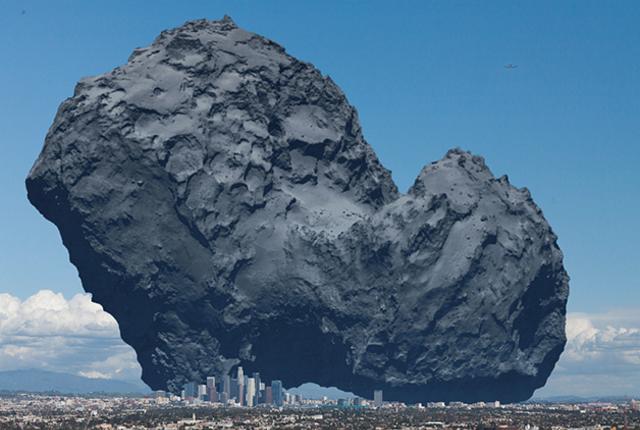 Rosetta's Comet vs Los Angeles.png