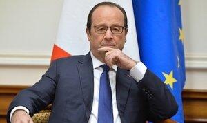 Рейтинг Франсуа Олланда вырос после терактов в Париже