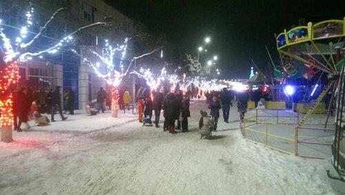 Бельцы под снегом - превращаются вечером в сказочное царство
