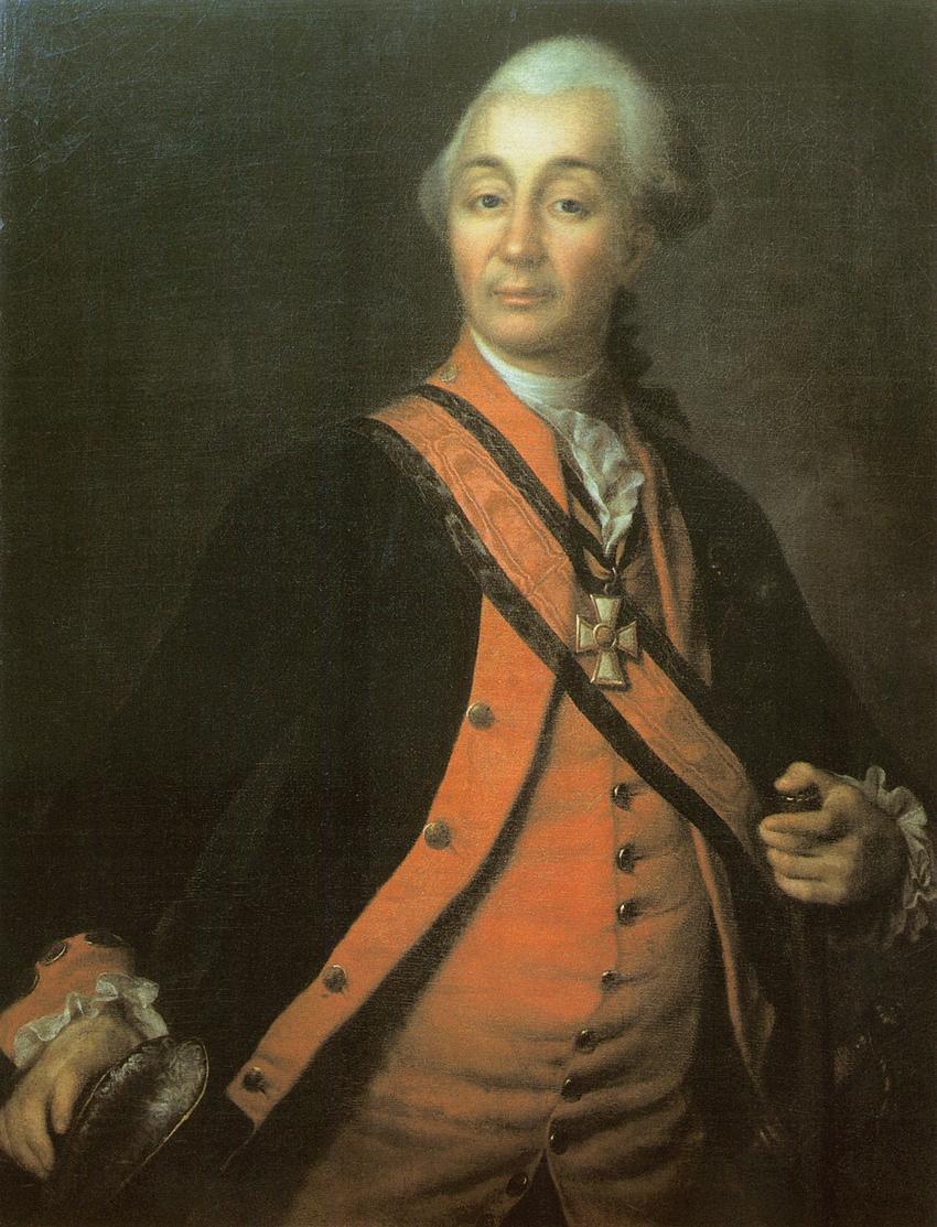 Портрет А.В. Суворова. 1786