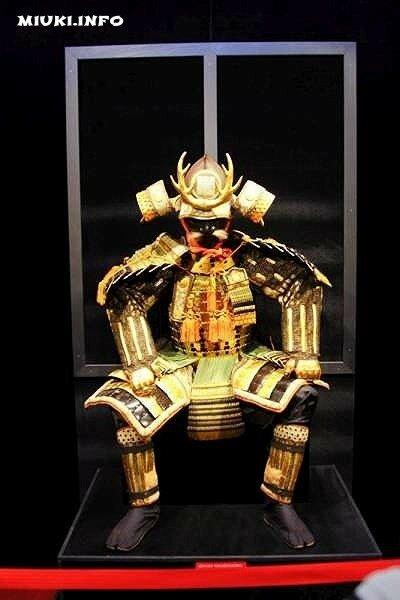 Золотой доспех клана Токугава