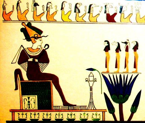 Осирис (изображение с Одесского Археологического музея)