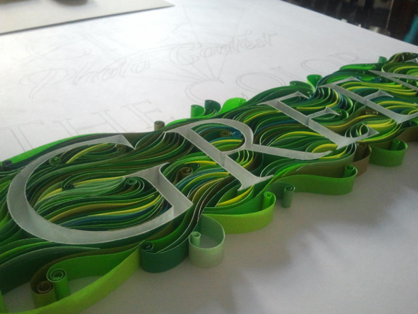 Бесконечное разнообразие бумажной филиграни. Графb50ический дизайнер Sabeena Karnik