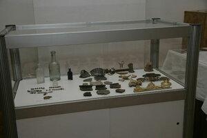 5. Витрина с археологическими находками