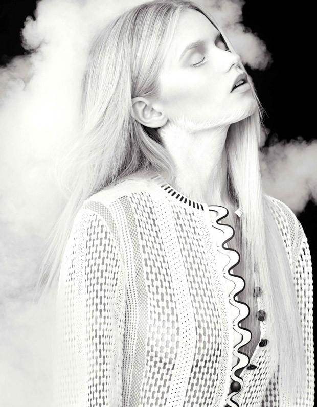 Эбби Ли (Abbey Lee) в журнале Flaunt
