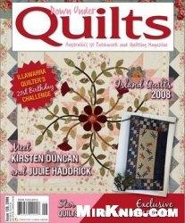 Журнал Down Under Quilts №126, November  2008