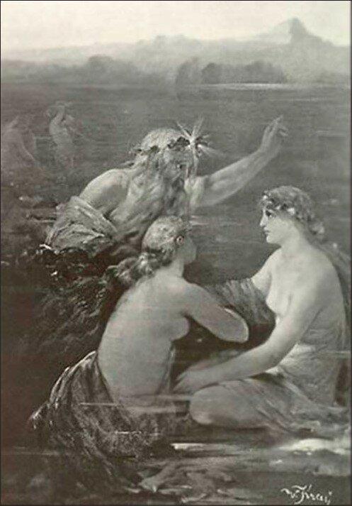 Король Рейна и русалки. Konig Rhein. В. Край.