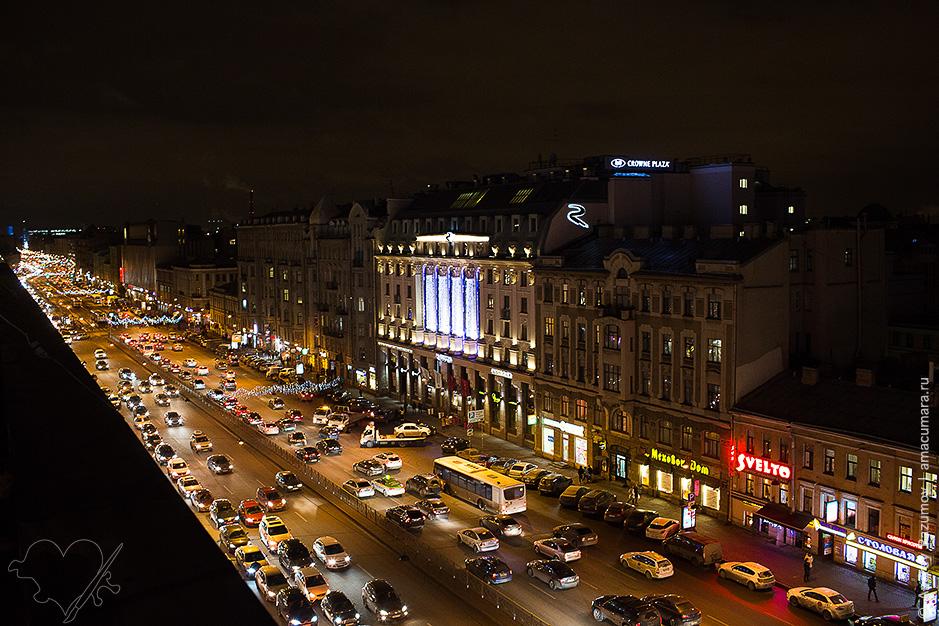 Панорамная крыша в Галерее СПб