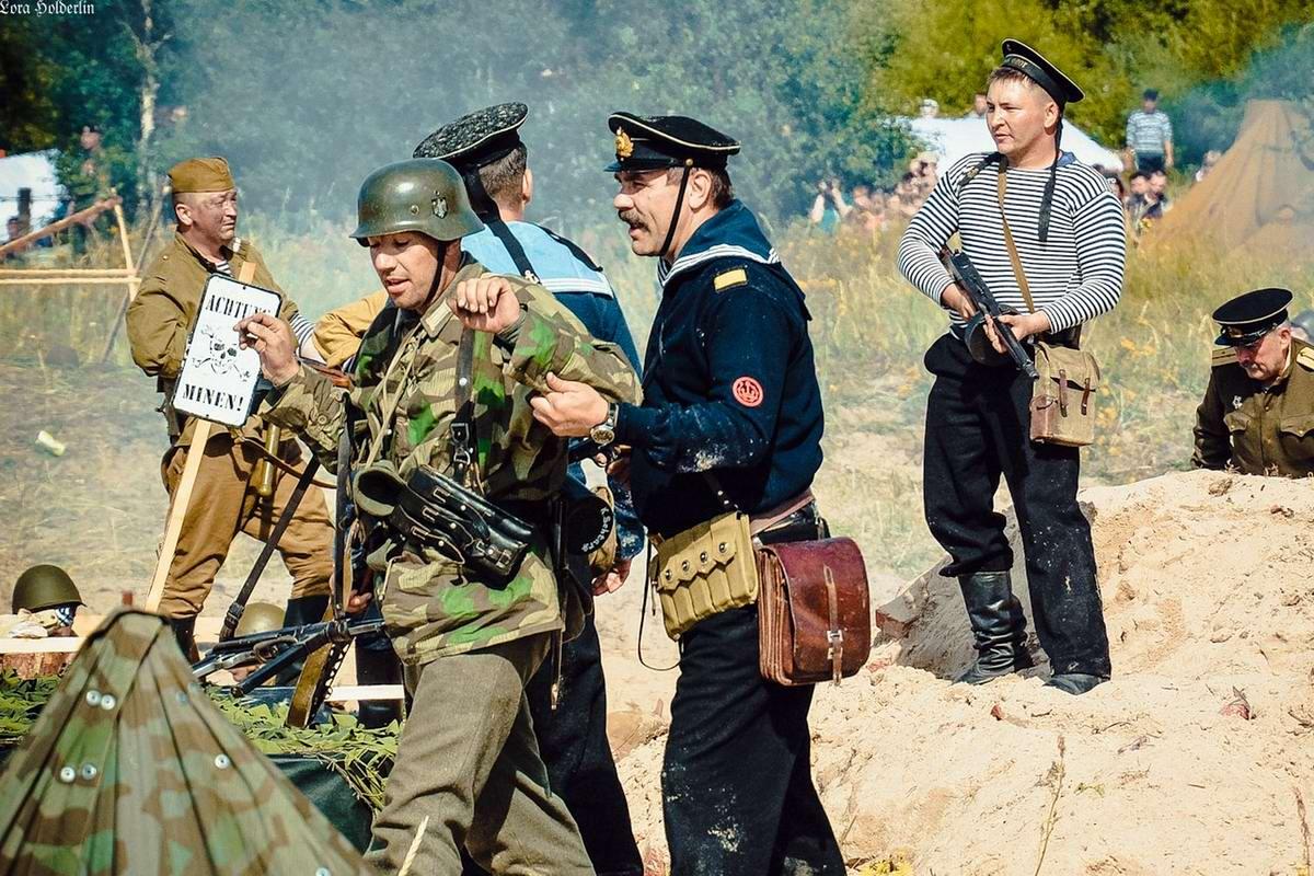 Забавные моменты из жизни военных реконструкторов (94)