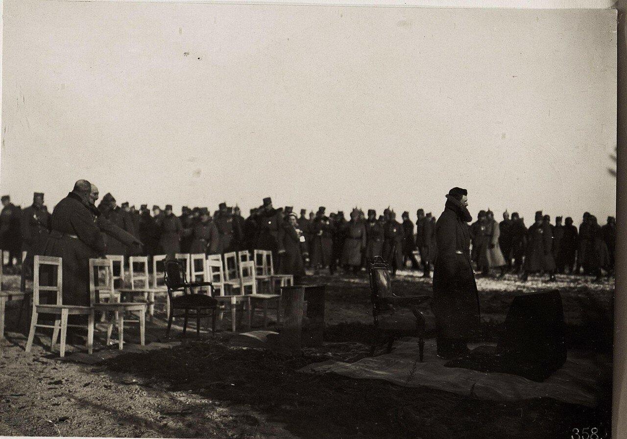 Kaiser Karl bei der Feldmesse in Wladimir Wolinsky