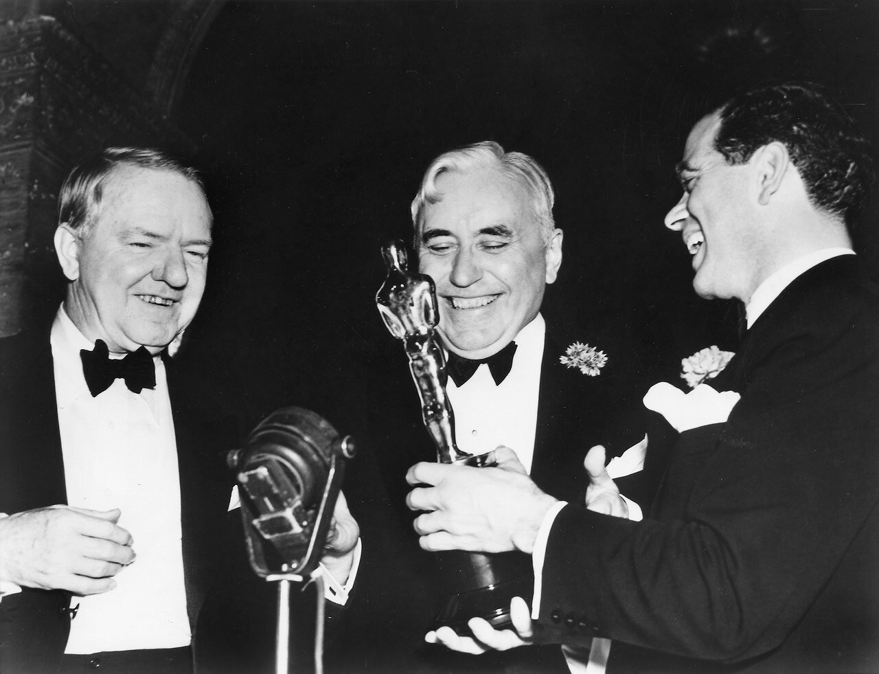 1938. Уильям Клод Филдс, Мак Сеннет (награда за выдающиеся заслуги) и Фрэнк Капра