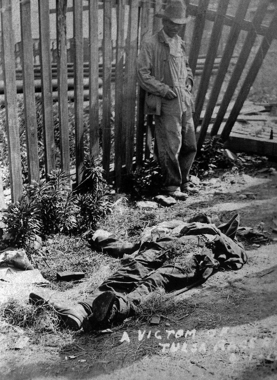 1921. 1 июня. Расовый бунт в Талсе, Оклахома