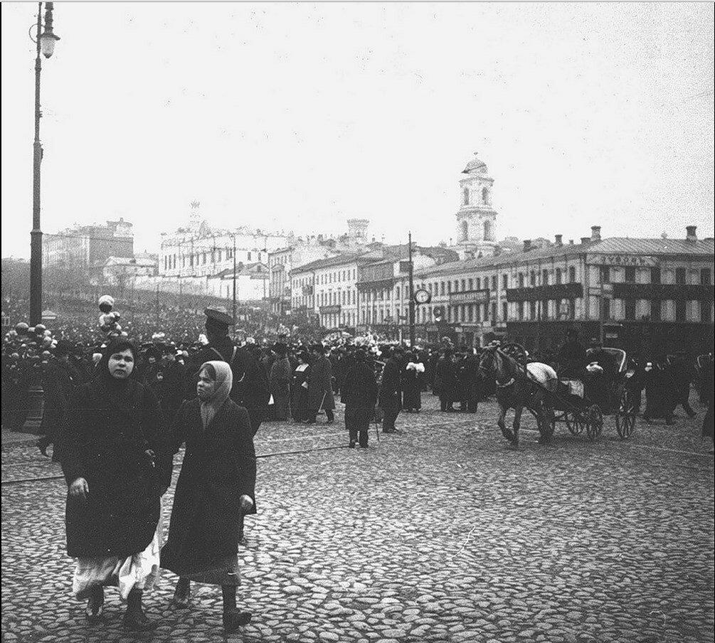 420. 1911. Трубная площадь