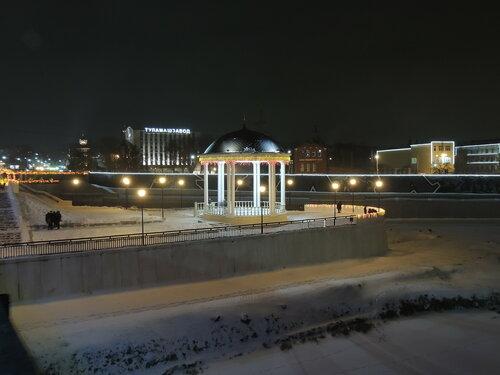 Ночная Тула. Ротонда