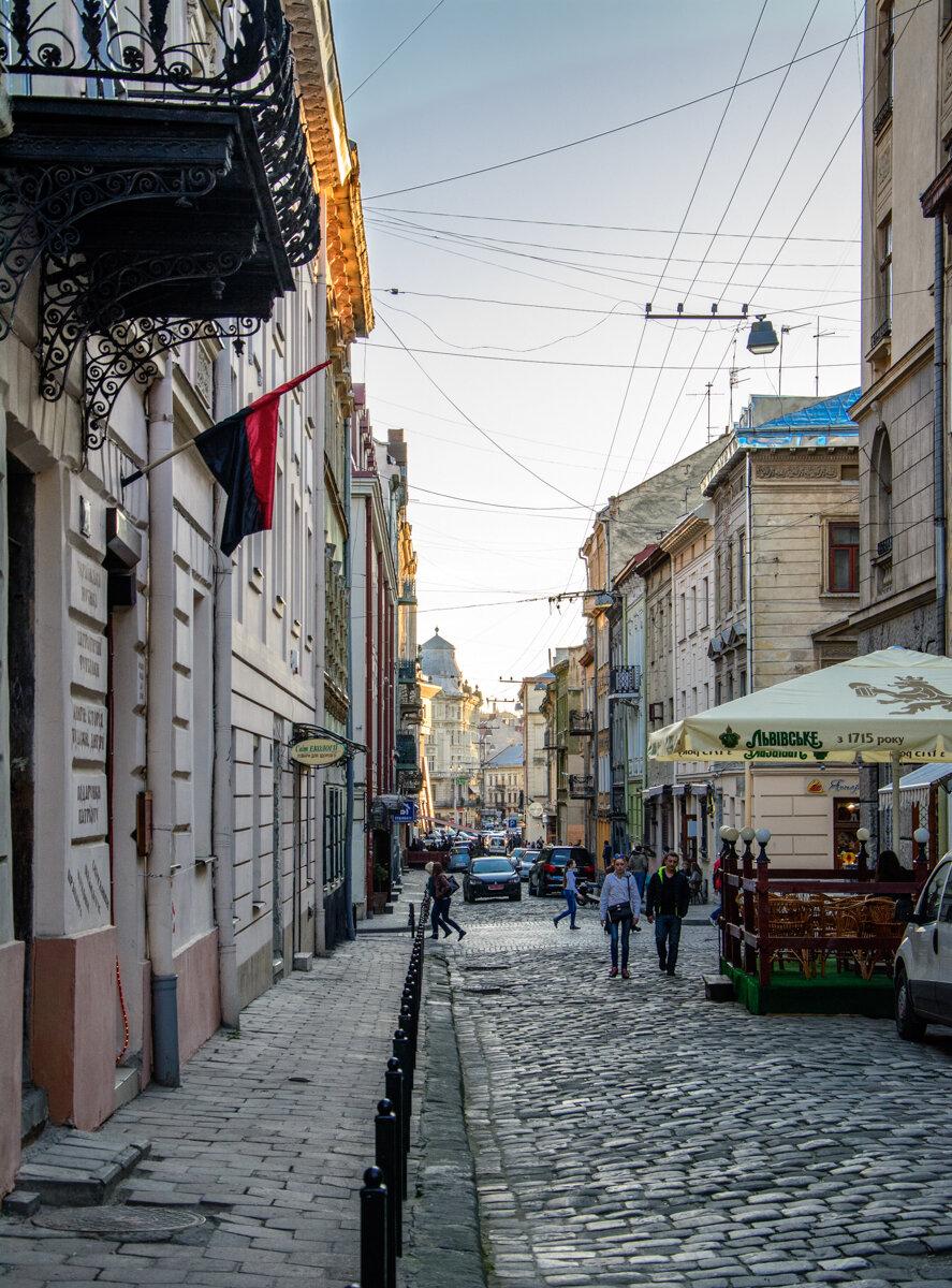 Львовские пешеходные улицы