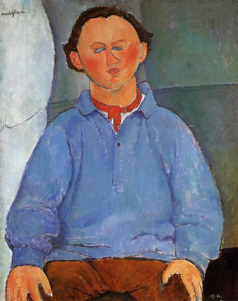 Portrait of Oscar Meistchaninoff - 1916 - PC - Painting - oil on canvas.jpeg
