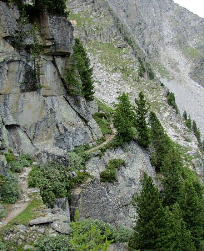 4 дня треккинга в Швейцарии. Август 2013г.