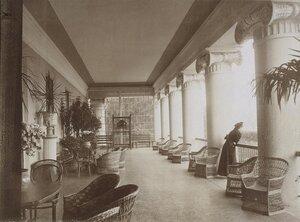 Верхний балкон на даче П.П. Дурново.