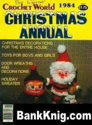 Журнал Crochet World Christmas Annual 1984 смешанный 5,9Мб