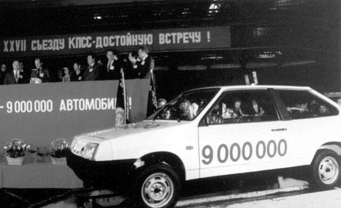 30 лет исполнилось ВАЗ 2108
