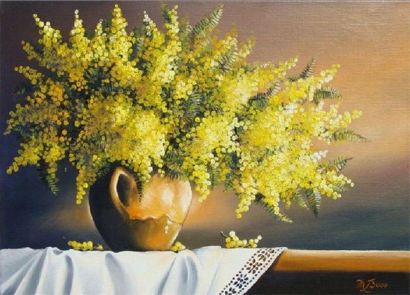 Marcel Boos Bouquet de mimosa.jpg